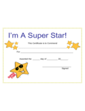 Star Award Certificate Template Free Download