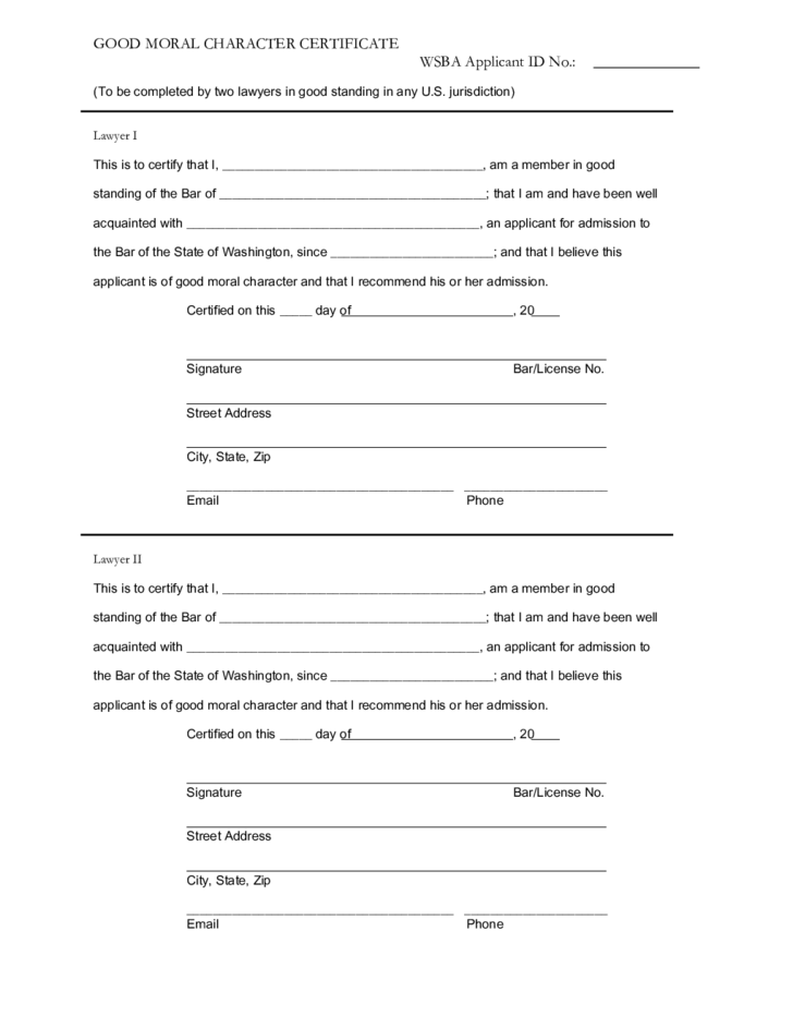 Worksheet for letter about moral character 28 images sle of a worksheet for letter about moral character moral character letter for employee moral character certificate free yadclub Image collections