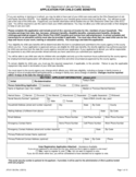 Child Care Benefit Form - Ohio Free Download