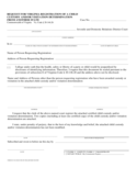 Request for Virginia Registration of a Child Custody and/or Visitation Determination from Another State
