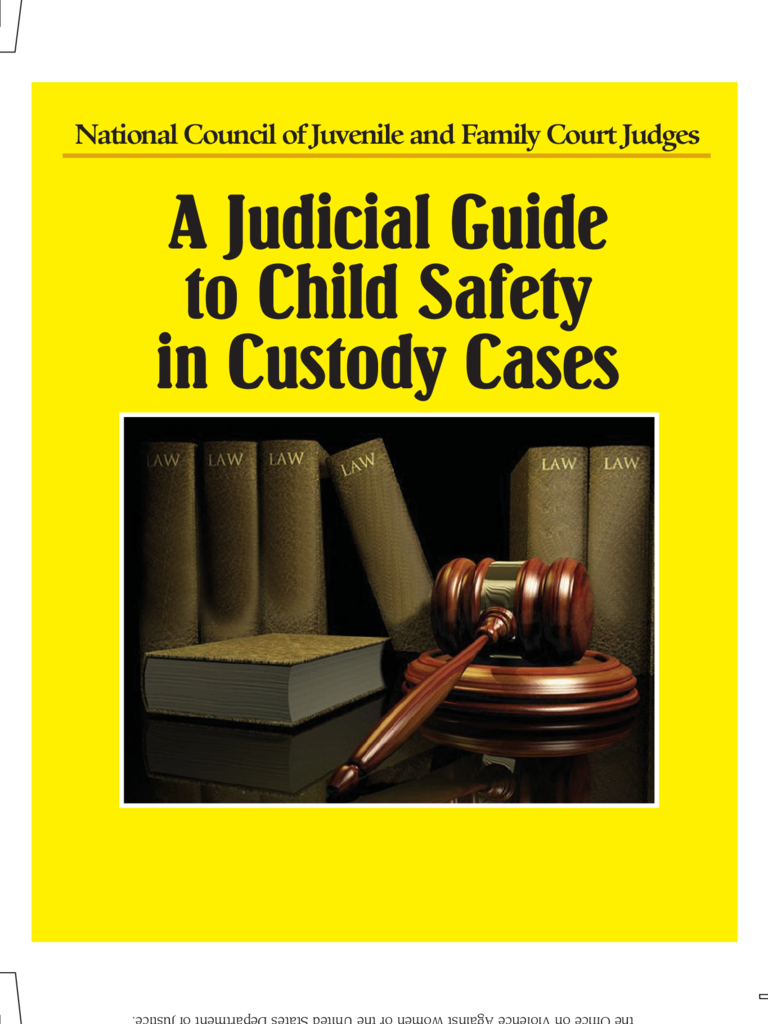 A Judicial Guide to Child Safety in Custody Cases - Illinois