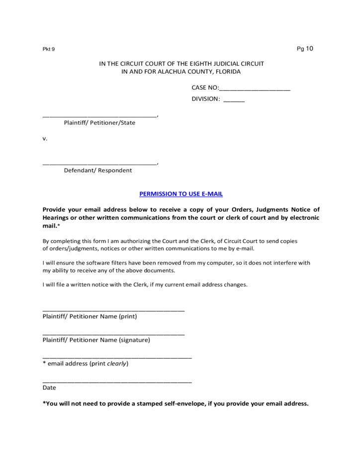 forms for a petition for temporary custody