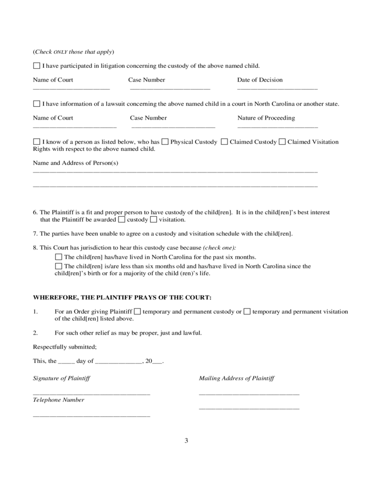 This is an image of Free Printable Child Custody Forms throughout pet custody