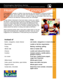 Healthier diet of young children - Pennington Free Download