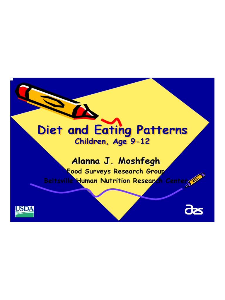 Children Diet and Eating Patterns