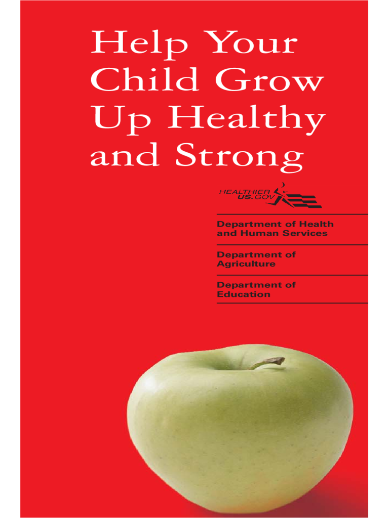 Help Your Child Grow Up Healthy and Strong