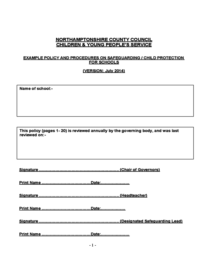 army continuity book template - child protection policy template for community groups 28