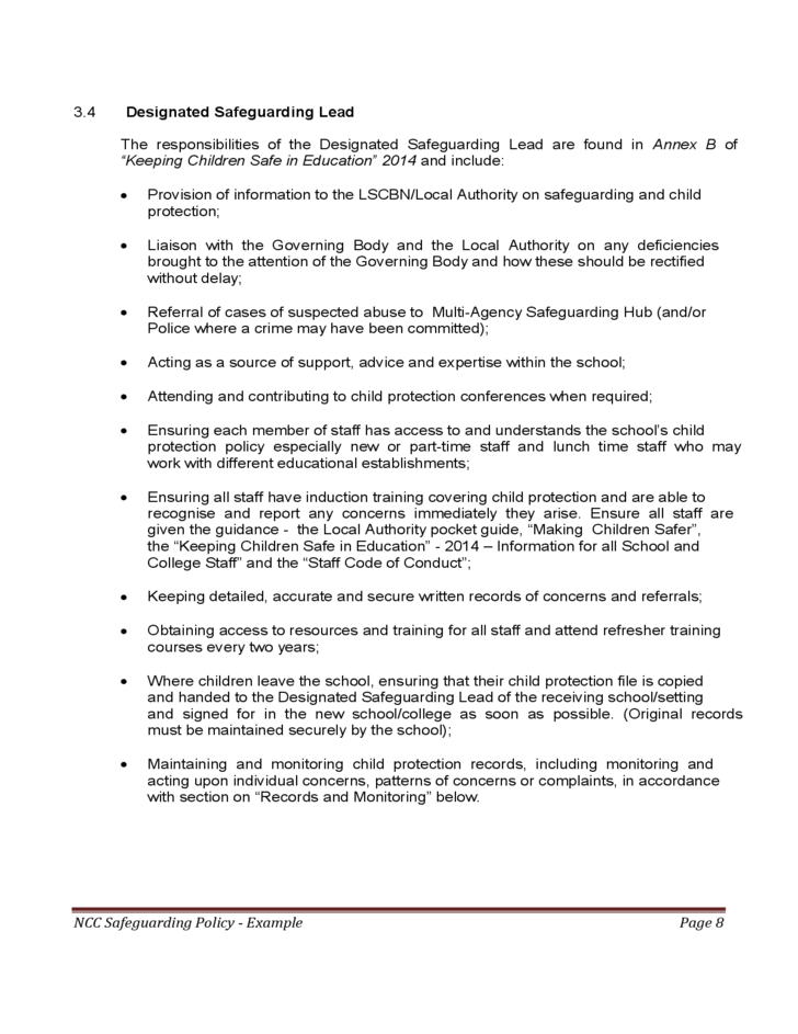 safeguarding self esteem and children Confirmation of receipt of safeguarding & child protection policy    encouraging self-esteem and self-assertiveness, through the curriculum as well  as our.