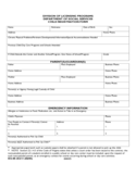 Child Registration Form - Virginia Free Download