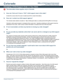 Child Support Order State Guide - Colorado Free Download