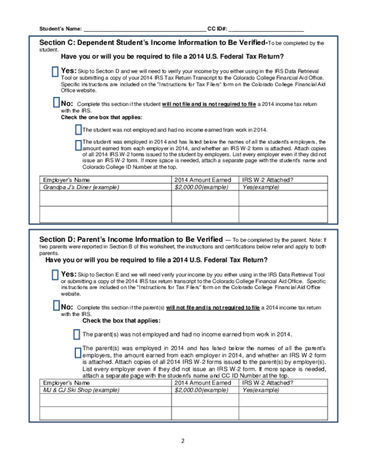 Verification Worksheet Virallyapp Printables Worksheets – Dependent Verification Worksheet
