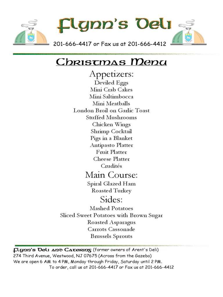 Christmas Menu Template 17 Free Templates in PDF Word Excel – Christmas Menu Word Template