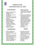 Christmas Wish List Sample Free Download