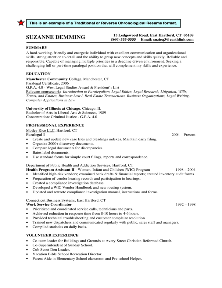 Relevant coursework resume sample