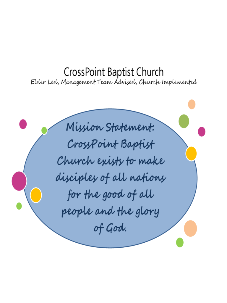CrossPoint Baptist Church Organizational Structure