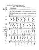 Sample Clarinet Fingering Chart Free Download
