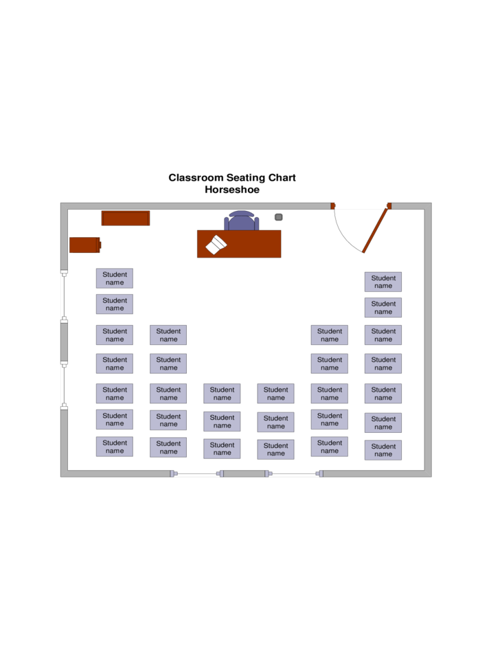classroom table seating chart template