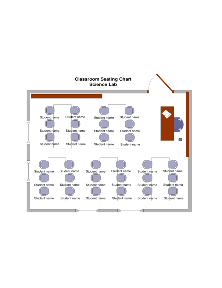 Best Classroom Seating Chart Template Free Download