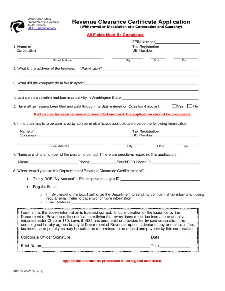 clearance tax application jersey certificate form