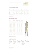 Clothing and Wader Sizing Chart Free Download