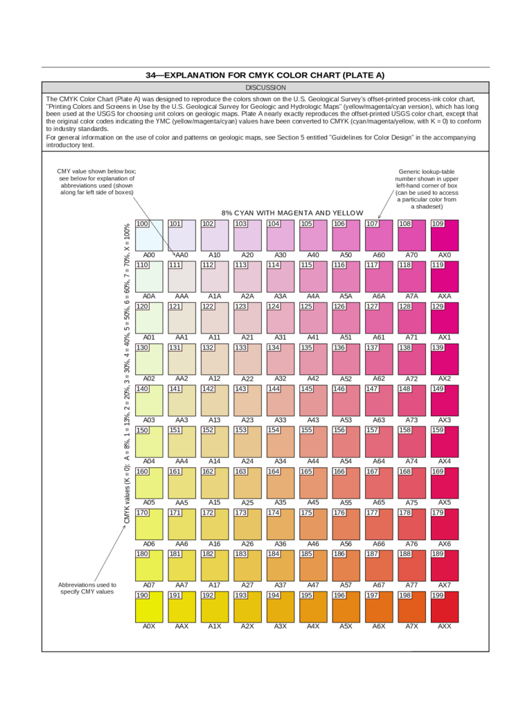 Sample Cmyk Color Chart Documents In Pdf Word. U2026 Sample Colours U2013 ORACAL ®  651 U2026