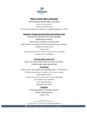 Meat Cocktail Menu Free Download