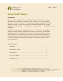 Cocoa Market Update Free Download