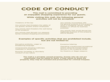 Code of Conduct Sample