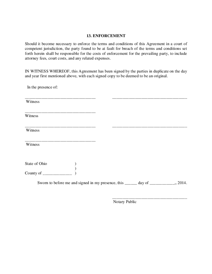 Cohabitation agreement ohio free download 6 cohabitation agreement ohio platinumwayz