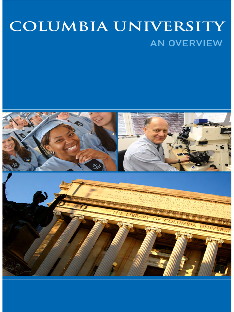 College Brochure - Columbia University