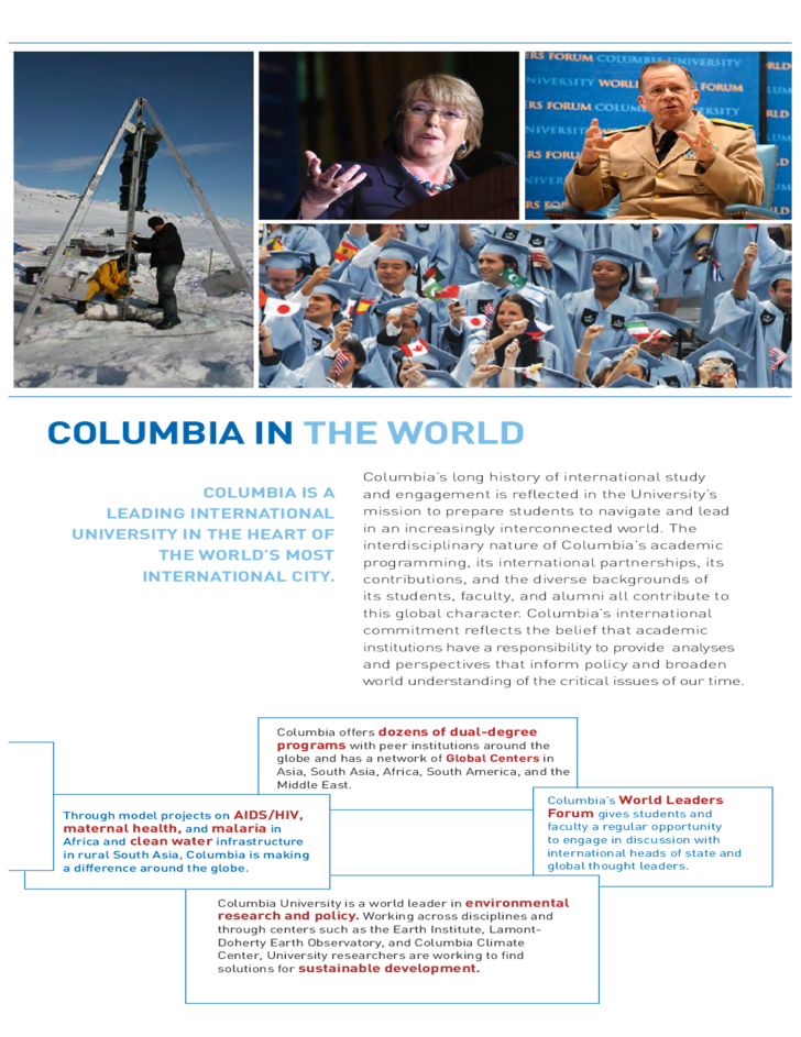 7 College Brochure   Columbia University