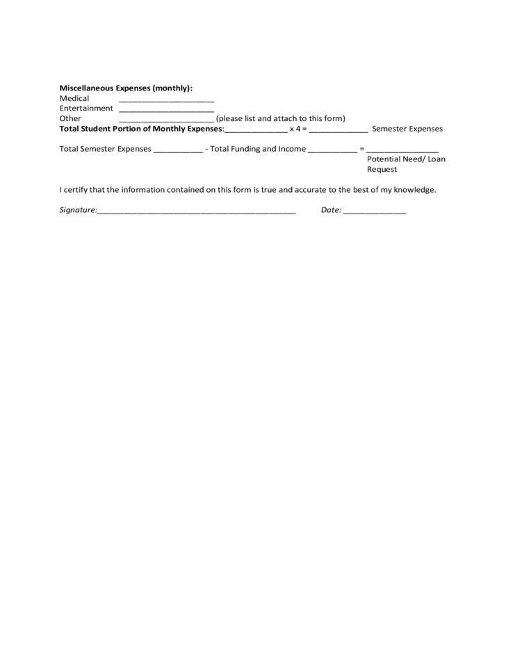 Community College of Vermont Supplemental Budget Form