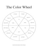 Blank Color Wheel Chart Free Download