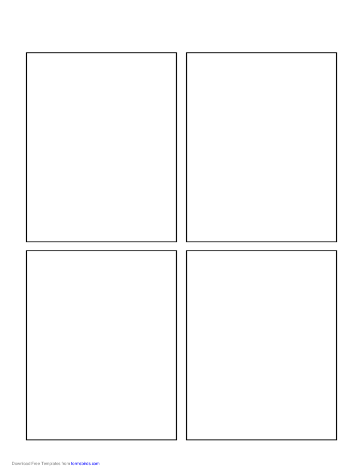 blank comic book page free download