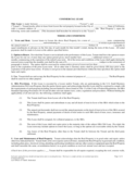 Commercial Rental and Lease Form-California