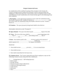 Oregon Commercial Lease Agreement
