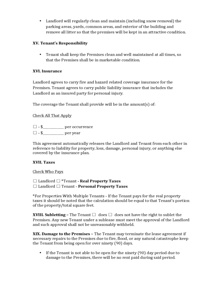 Nevada Commercial Lease Agreement Free Download – Commercial Lease Agreement Free Download