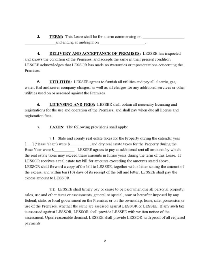Free missouri commercial lease agreement 28 images free missouri monthly rental agreement for Missouri lease agreement