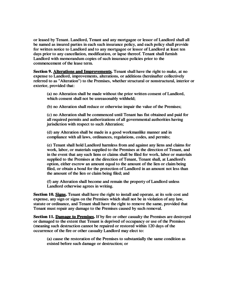 Ohio Commercial Lease Agreement Template Free Download
