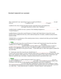 Maryland Commercial Lease Agreement Form