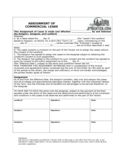 Assignment of Commercial Lease Free Download