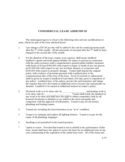 COMMERCIAL LEASE ADDENDUM Free Download