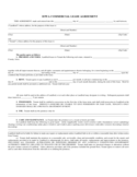 Iowa Commercial Lease Agreement