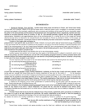 Sample Form for Commercial Lease Agreement