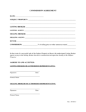 Commission Agreement Template Free Download