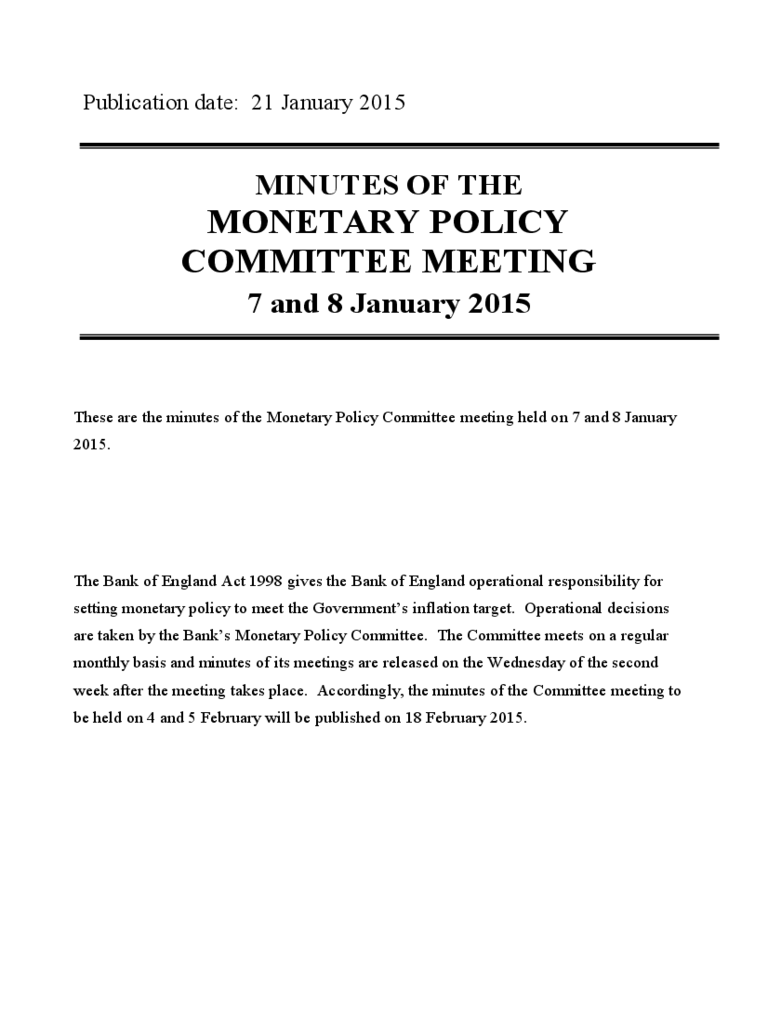 committee meeting minutes template 7 free templates in pdf word