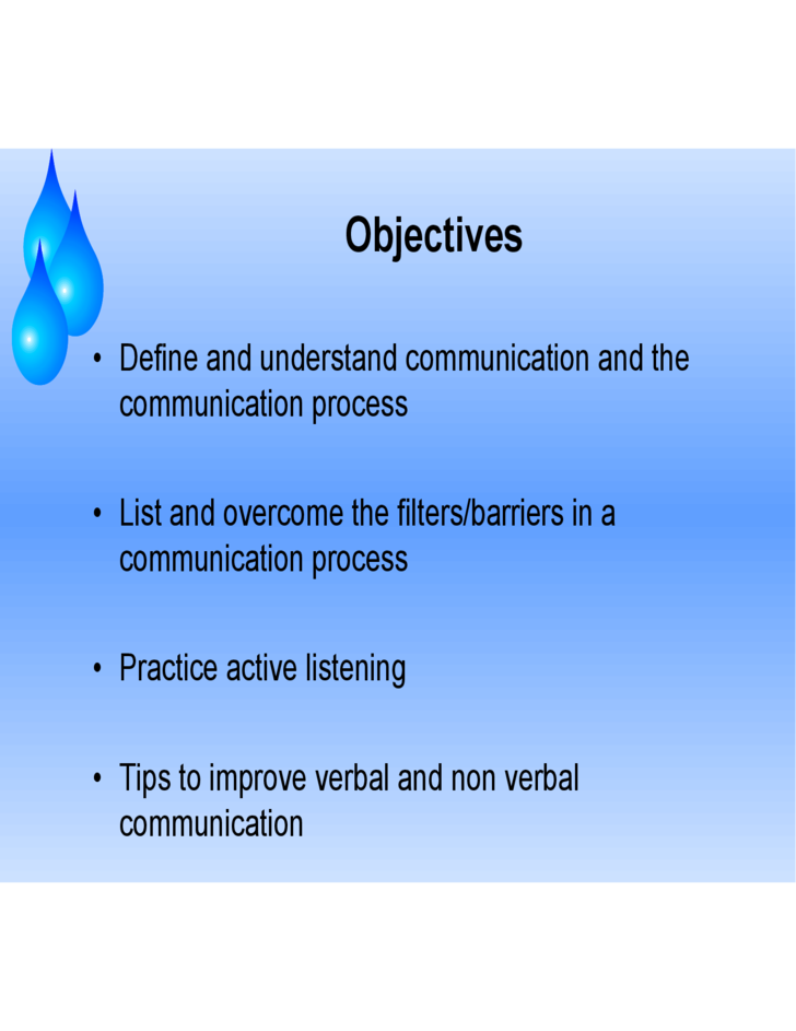Sample Communication Skills PPT Free Download – Communication Skills Ppt
