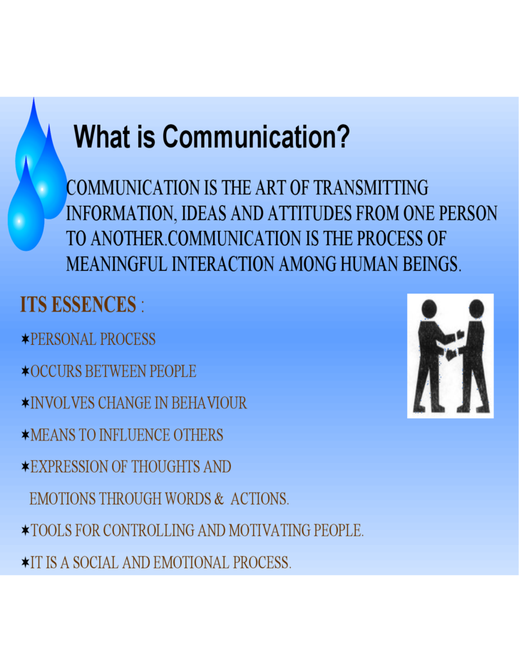 sample communication skills ppt free download