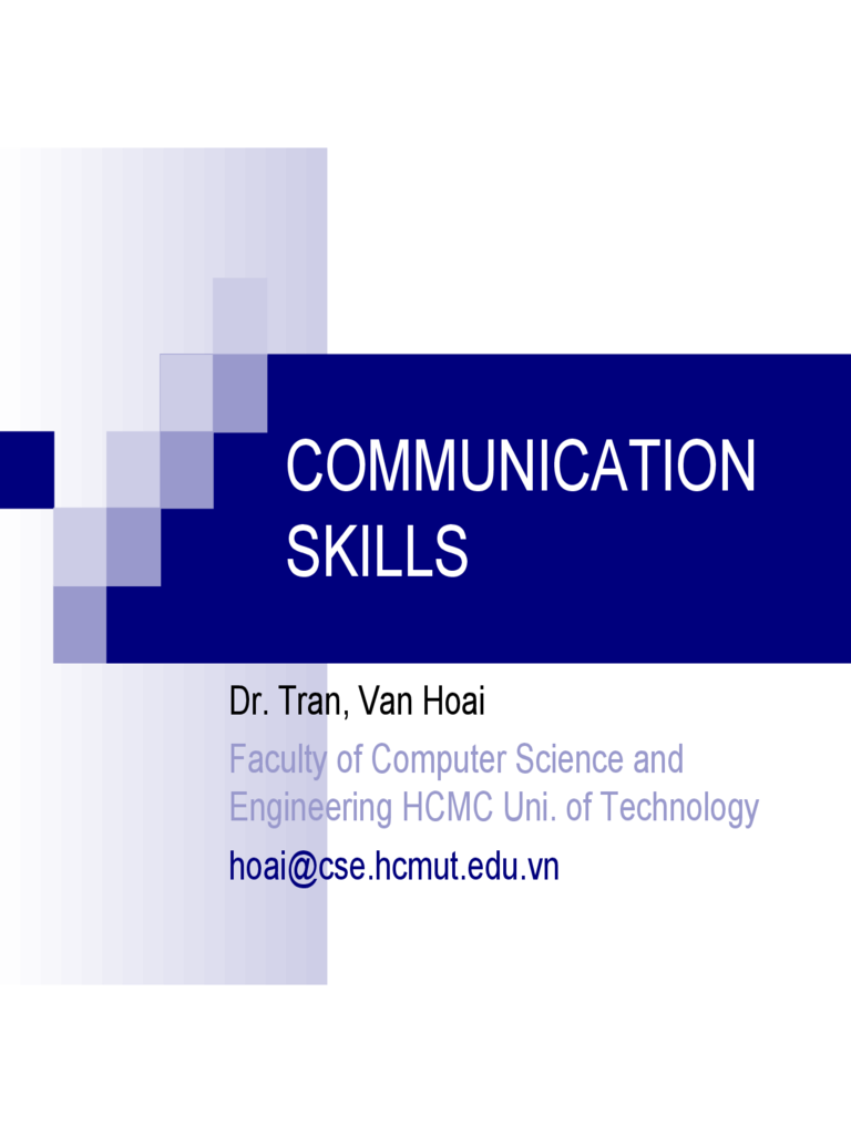 Talk Communication Skills PPT