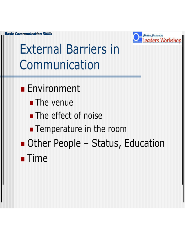 basic communication skills ppt free download